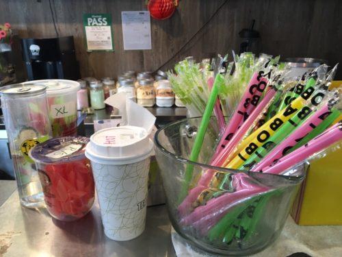 TEA SHOP 168 店内