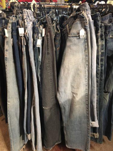 ブラックマーケットのジーンズ
