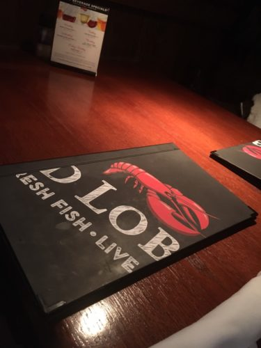 Red Lobsterメニュー